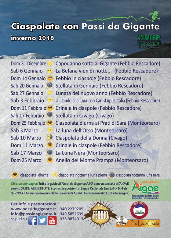 Passi da Gigante Inverno 2018