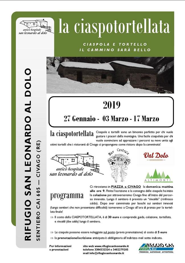 Ciaspotortellata 2019