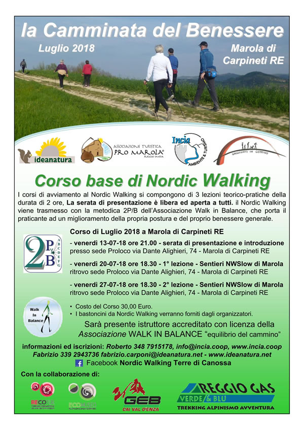 Corso Nordic Walking Marola