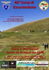 40 corso escursionismo