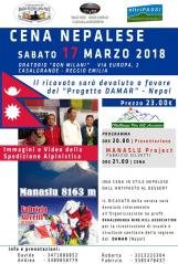 Cena Nepalese 2018