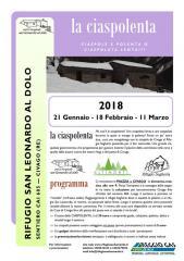 La Ciaspolenta 2018