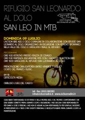San Leo in MTB